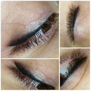 Eyeliner realizado por RosaMaria Suarez